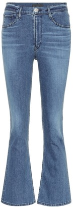 3x1 W4 cropped high-rise bootcut jeans