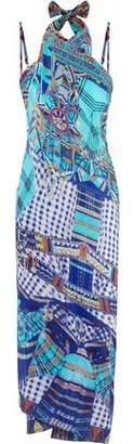 Camilla Divinity Dance Convertible Printed Silk Crepe De Chine Maxi Dress