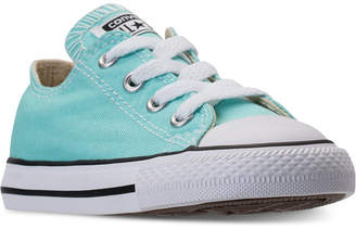 Converse Toddler Girls' Chuck Taylor Ox Casual Sneakers from Finish Line $29.99 thestylecure.com
