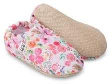 Baby on the Go Baby's Floral Moccasins