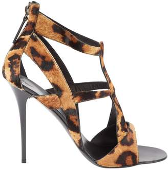 Giuseppe Zanotti Pony-style calfskin heels