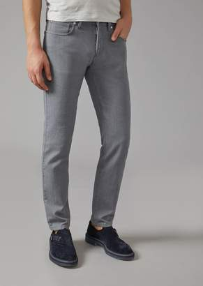 Giorgio Armani Slim Fit Japanese Denim Jeans