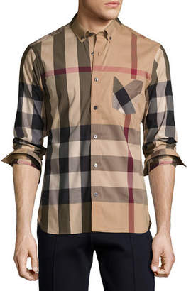 Burberry Thornaby Check Sport Shirt