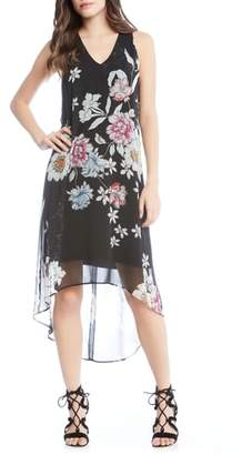 Karen Kane Floral High/Low Dress