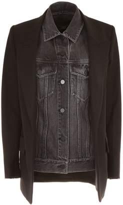 Alexander Wang Wool And Denim Jacket