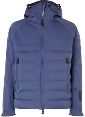 Moncler Achensee Quilted Stretch-Twill Down Ski Jacket