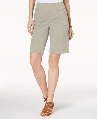 Style&Co. Style & Co Petite Pull-On Comfort-Fit Bermuda Shorts