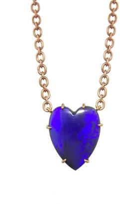 Irene Neuwirth 10.83 Carat Opal Heart Necklace - Rose Gold