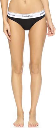 Calvin Klein Underwear Modern Cotton Thong $20 thestylecure.com