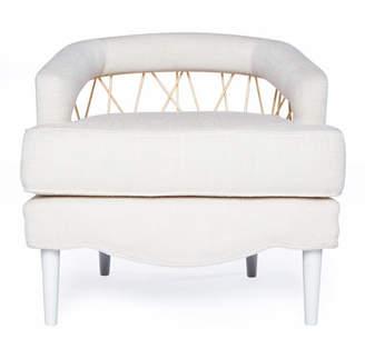 Badgley Mischka Home Tomland Accent Chair