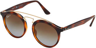 Ray-Ban RB 4256 Tortoise Retro Round Sunglasses
