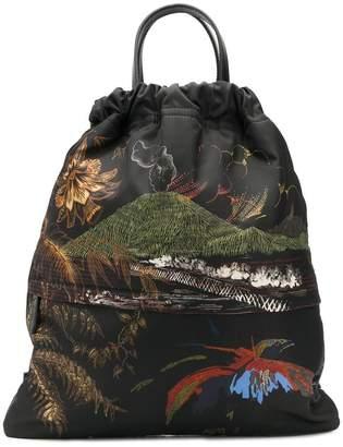 Etro printed backpack