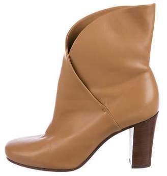 Celine Leather Ankle Booties