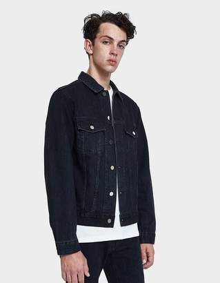 Need Denim Jacket in Broken Black