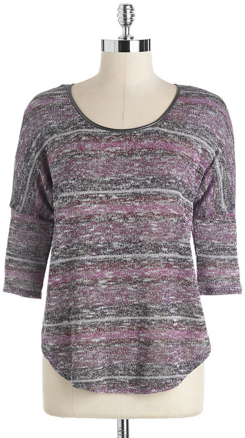 Jessica Simpson Melanee Knit Boxy Top