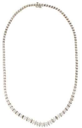 Riviera 14K Diamond Necklace