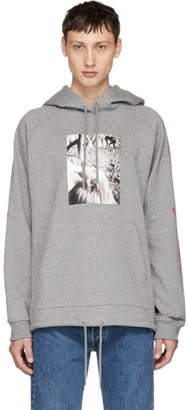 Opening Ceremony Grey Shinoyama Edition II Hoodie