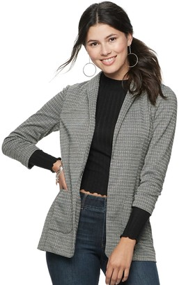 Candies Juniors' Candie's Oversized Relaxed Blazer