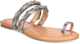 Thalia Sodi Jaelah Flat Toe-Ring Sandals, Created For Macy's Women's Shoes
