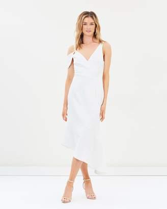 Cooper St Jasmine Asymmetric Midi Dress