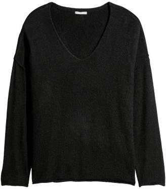 H&M H&M+ Knit Sweater - Black