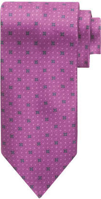 Stefano Ricci X-Print Silk Tie