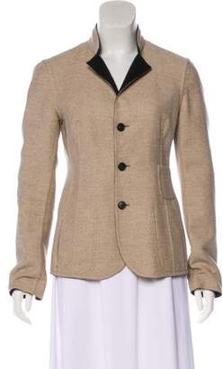 Akris Collared Long Sleeve Jacket