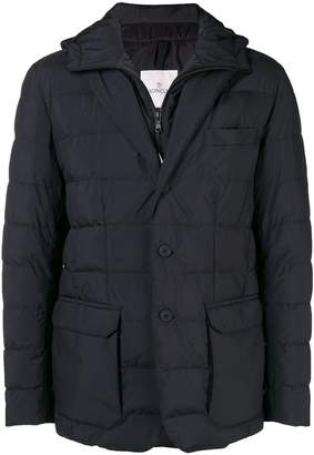 Moncler Vernoux hooded blazer jacket
