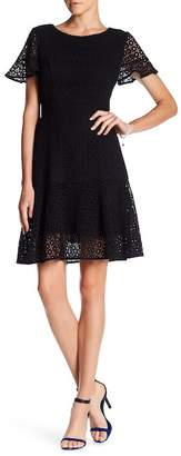 NUE by Shani Cotton Eyelet Lace Dress