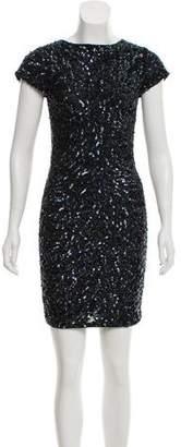 Alice + Olivia Sequin Bodycon Dress