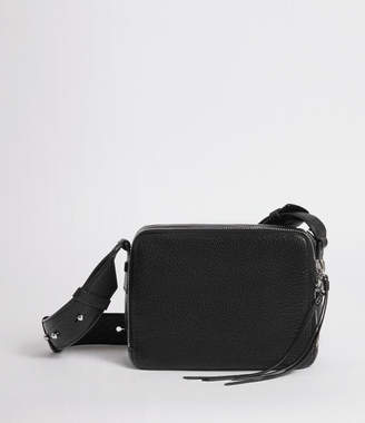 AllSaints Vincent Leather Crossbody Bag