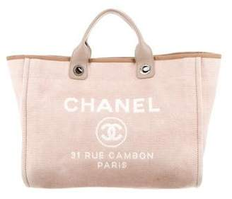 Chanel 2017 Medium Deauville Tote