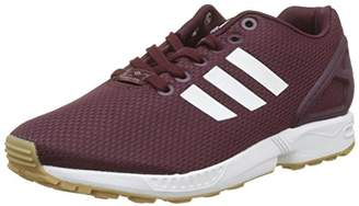 adidas Boys' Zx Flux Fitness Shoes, Red (Granat/Ftwbla / Gum3 000)
