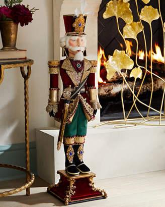 Katherine's Collection Gift Of Christmas Nutcracker