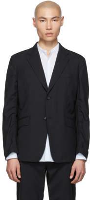 Comme des Garcons Homme Homme Black Tropical Wool Blazer