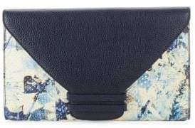 VBH Connor Python Envelope Clutch