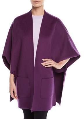 Escada Wool-Cashmere Cape