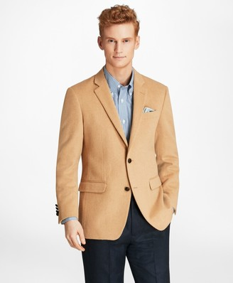 Brooks Brothers Milano Fit Camel Hair Sport Coat