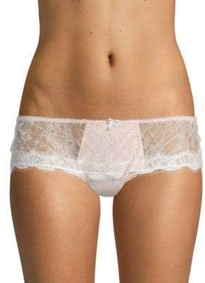 Mimi Holliday Lace Scallop-Trimmed Boyshorts