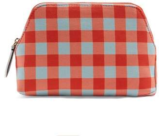 Diane von Furstenberg Cossier Print Canvas Cosmetic Case - Womens - Red Multi