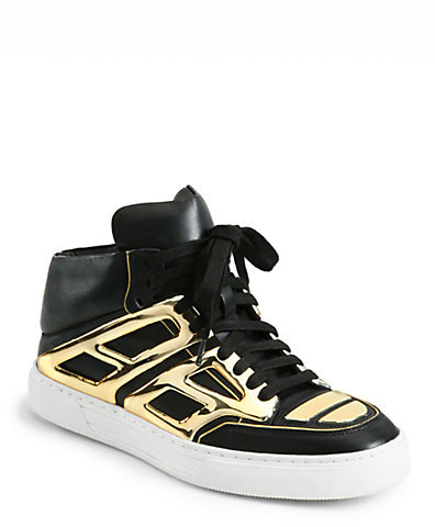 Alejandro Ingelmo Tron Leather Lace-Up Sneakers