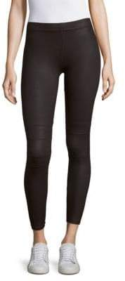 David Lerner Coated Detail Leggings