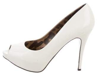 Dolce & Gabbana Peep-Toe Platform Pumps