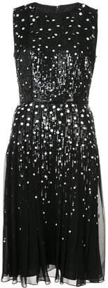Carolina Herrera sequin embellished dress