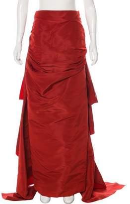 Rosie Assoulin Silk Draped Skirt