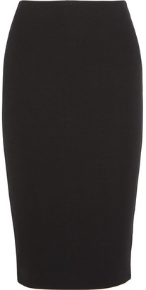 McQ Alexander McQueen - Stretch-jersey Pencil Skirt - Black $380 thestylecure.com