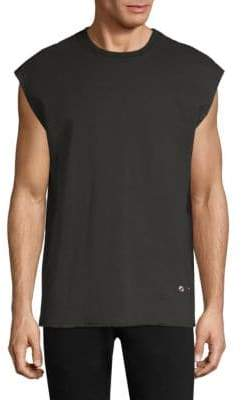 Helmut Lang Distressed Sleeveless T-Shirt