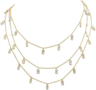 Electric Picks Semi-Charmed 3 Layer Necklace