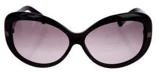 Fendi Zucca Round Sunglasses