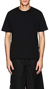 Craig Green Men's Lace-Up Cotton Jersey T-Shirt - Black